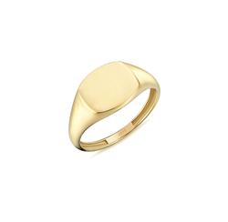 - Golden Ratio Altın Yüzük Yeşil