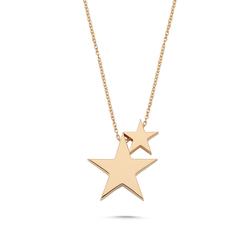 - Golden Ratio Yıldız Kolye Rose