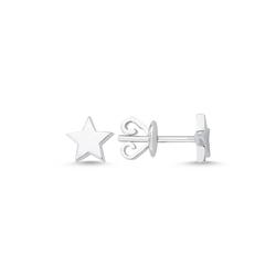 - Golden Ratio Yıldız Küpe Beyaz