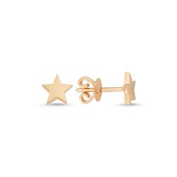 - Golden Ratio Yıldız Küpe Rose