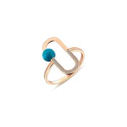 - Neo Neomi Mavi Mine Pırlanta Yüzük Small