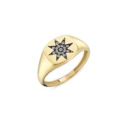 - North Star Pırlanta Yüzük Yeşil